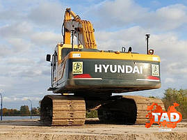 Гусеничный экскаватор Hyundai R290LC-9 Long Reach (2013 г), фото 3
