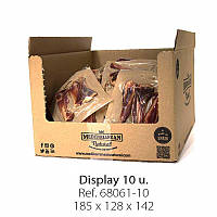 Лакомства М'ясна кістка для собак, свинина, Mediterranean natural Serrano Ham Bones 350грам 20см 2шт