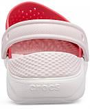 Детские кроксы Crocs Literide Kids красные С12/ 18,3 – 18,7 см, фото 3