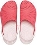 Детские кроксы Crocs Literide Kids красные С12/ 18,3 – 18,7 см, фото 4
