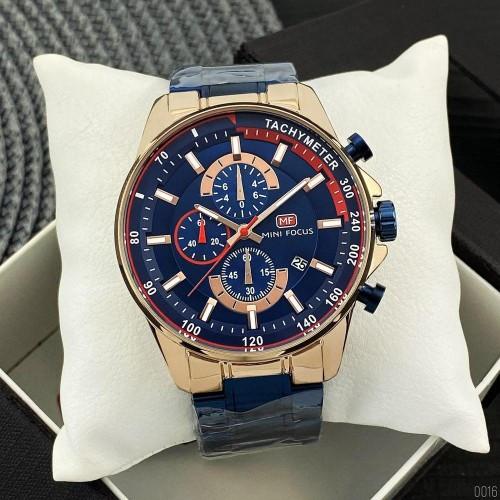 Часы наручные мужские Mini Focus MF0218G Blue