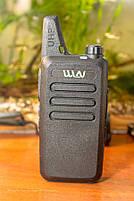 Комплект из двух Раций WLN KD-C1 мини UHF 400-470 МГц Радиостанция 5 Ватт, фото 2