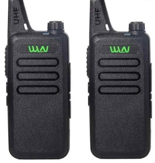 Комплект из двух Раций WLN KD-C1 мини UHF 400-470 МГц Радиостанция 5 Ватт