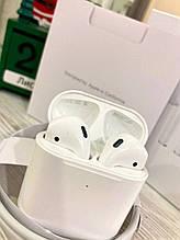 Бездротові навушники Airpods 2 Люкс копія Репліка 1:1 + Чохол в подарунок!