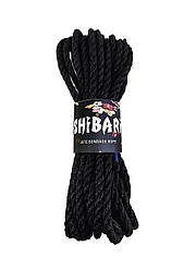 Джутовая веревка для Шибари Feral Feelings Shibari Rope, 8 м черная