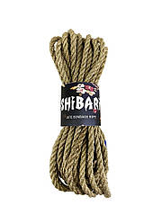 Джутовая веревка для Шибари Feral Feelings Shibari Rope, 8 м серая