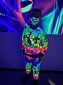 Дитячий світиться костюм унісекс Minecraft +маска в подарунок