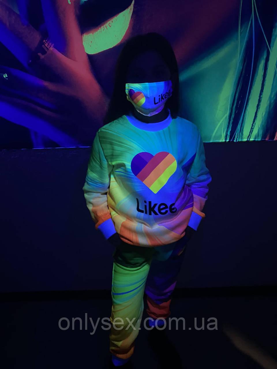 АКЦИЯ!!! Детский   костюм унисекс  +маска в подарок
