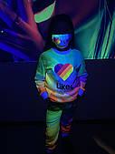 Дитячий світиться костюм унісекс Likee +маска в подарунок