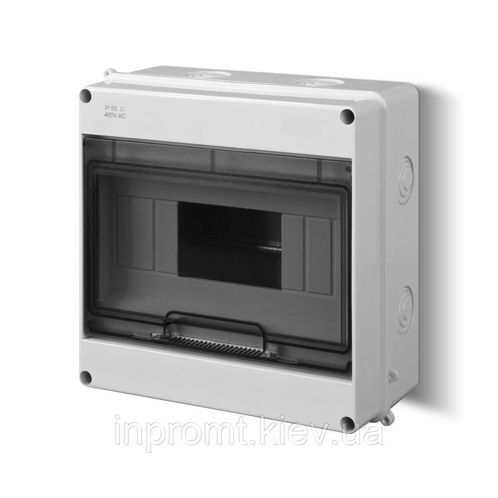 Корпус 9 модулей с окном  EP-LUX PLUS RN 1/9 IP 40 N+PE