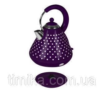 Kalorik JK1009PWD white Purple dots (фіолетовий)