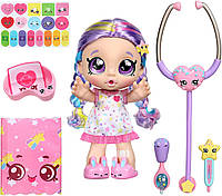 Кукла Кинди Кидс Радуга Рейнбоу Кейт с набором доктора Kindi Kids Rainbow Kate