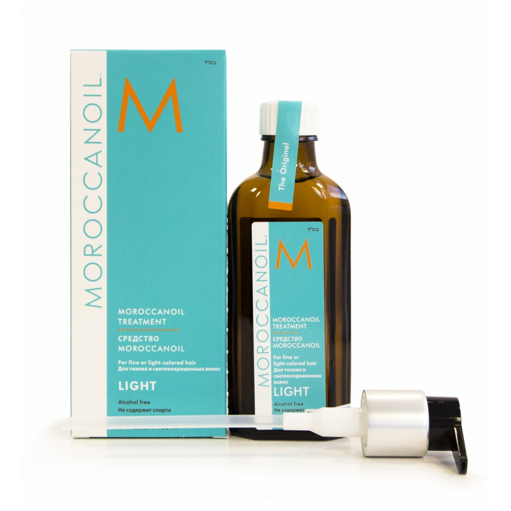 Moroccanoil Treatment For Fine And Light-Colored Hair Восстанавливающее масло 100 мл.