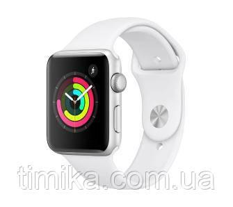 Apple Watch 3 38mm білий (ремінь спорт)