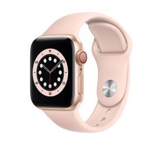Apple Watch Series 6 GPS Cellular 40 (рожева-спорт)
