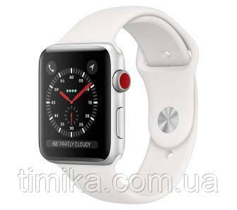 Apple Watch Series 3 38 мм GPS Cellular Спорт (білий)