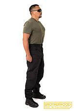 Тактические милитари штаны Urban, черный. Все разм. Brotherhood, фото 3
