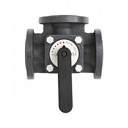 Клапан трехходовой Danfoss HFE3 50 поворотный (065Z0432)