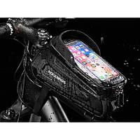 Сумка/держатель смартфона Rockbros на раму велосипеда