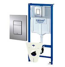 Інсталяція для підвісного унітазу Grohe Rapid SL 4 В 1 - 38775001