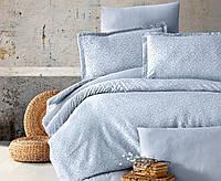 Шикарное жаккардовое постельное белье двухспальное-Евро 200х220 ( TM Aran Clasy) VERDA V2 жаккард, Турция
