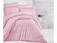 Красивое постельное белье из 100% хлопка 160х220 семейный размер (ТМ ARAN CLASY) Pudra, Турция