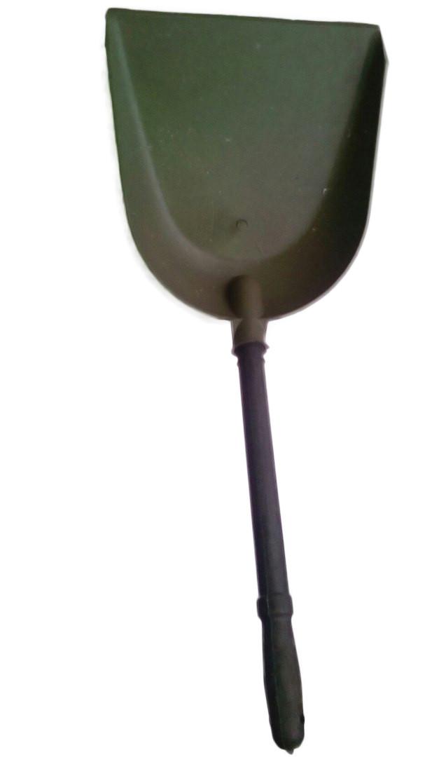 Совок для мусора пластиковый со вставной ручкой ручкой