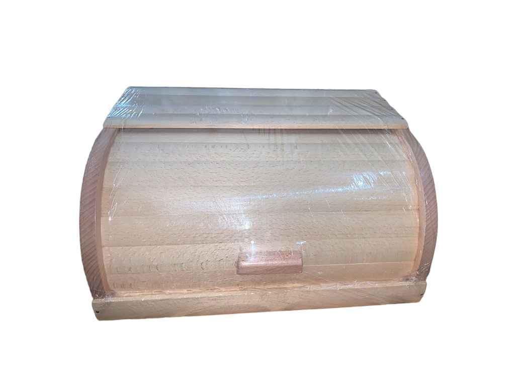 Хлібниця деревяна на рейках букова (світла) пропитана Варена ТМ ЧЕРНІВЦІ