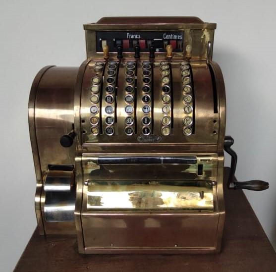 Кассовый аппарат Бельгия, нач.ХХ-го века