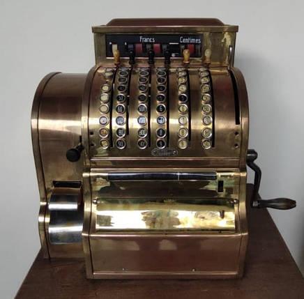 Кассовый аппарат Бельгия, нач.ХХ-го века, фото 2