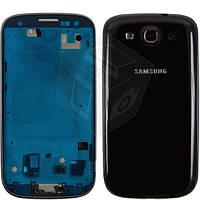 Корпус для Samsung Galaxy S3 i9300, оригинал, черный