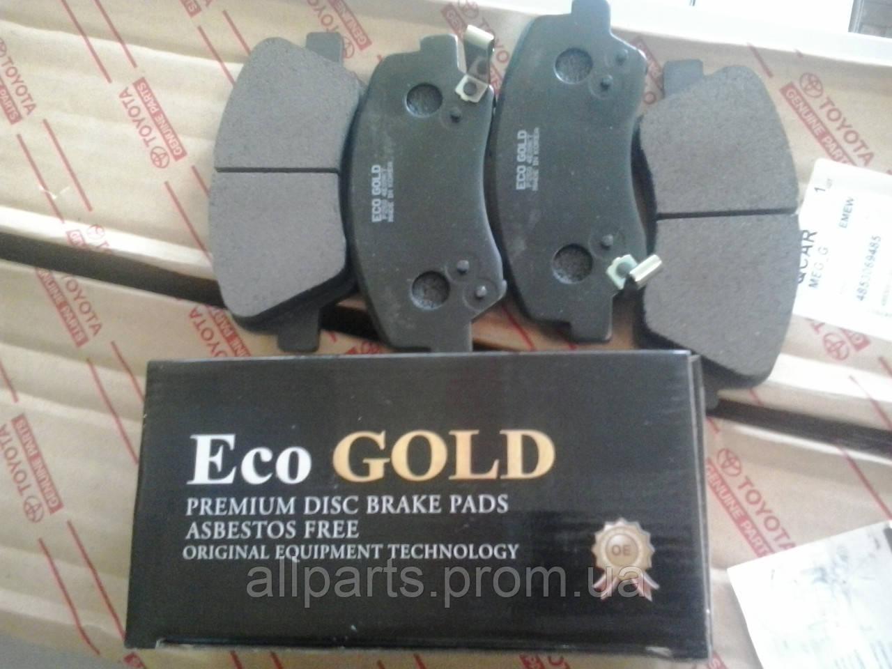 Тормозные колодки Eco GOLD (страна производитель Корея)