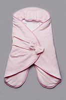 Конверт-кокон велюровый для девочки, детский спальный мешок для новорожденных, конверт для сна