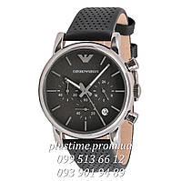 Кварцевые наручные часы с хронографом Emporio Armani ar1737 silver