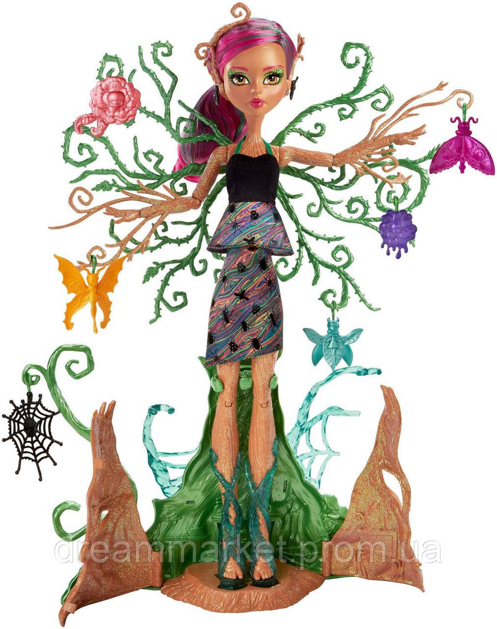 Кукла Монстер Хай Триза Торнвиллоу Садовые Монстры растущая 38см - Monster High Garden Ghouls Treesa