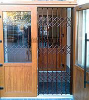 Раздвижная решетка на дверь Шир.1830*Выс2200мм для учреждений