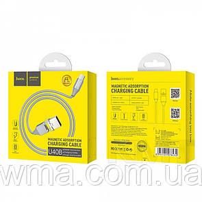 Кабель для зарядки (usb) Hoco U40B Type C Cable (1m) Metal Gray