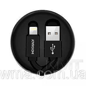 Кабель для зарядки (usb) Joyroom S-M346 Retractable  Type C USB Cable (0.9m) — Black