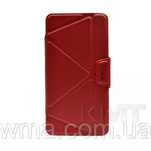 Leather Book Case — Xiaomi Redmi 4 iMax b — Red