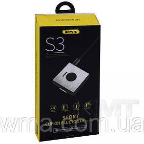 Remax RB-S3 Bluetooth Headset — Black
