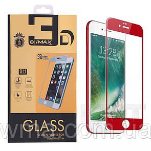 Защитное Стекло iMax Curved 3D — iPhone 7 , 8 — Red