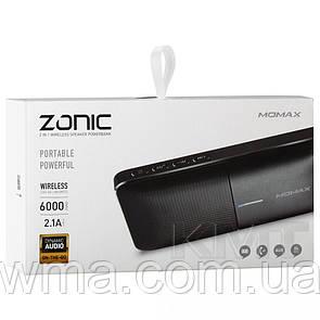 Momax (BST3D) ZONIC 2 in 1 Power Bluetooth Speaker — Black