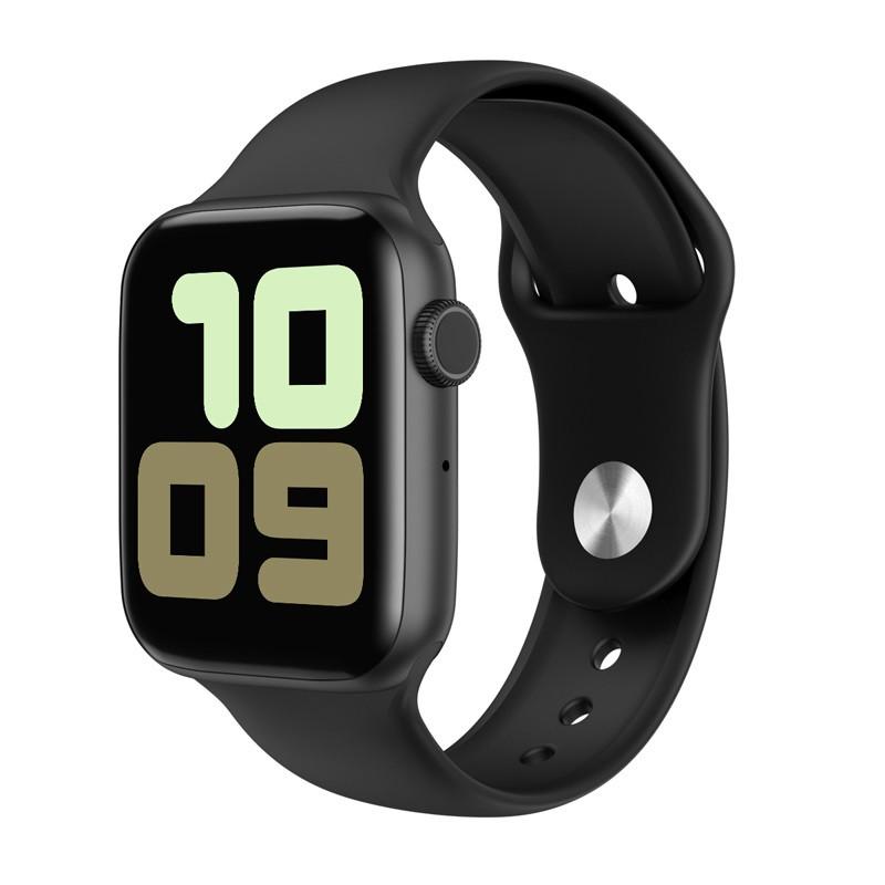 Умные часы IWO 11 с беспроводной зарядкой Черный (swiwo11bl)