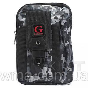 Сумка на бедро Poso (G213) smart Cross body military series — Design 03