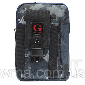 Сумка на бедро Poso (G213) smart Cross body military series — Design 04