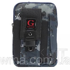 Сумка на бедро Poso (G213) smart Cross body military series — Design 05