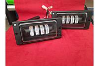 Led Противотуманные фары двухрежимные для ВАЗ 2110 с линзой диодные