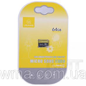 USAMS 64 GB US-ZB095 TF High Speed Card (ZB95TF01) Yellow