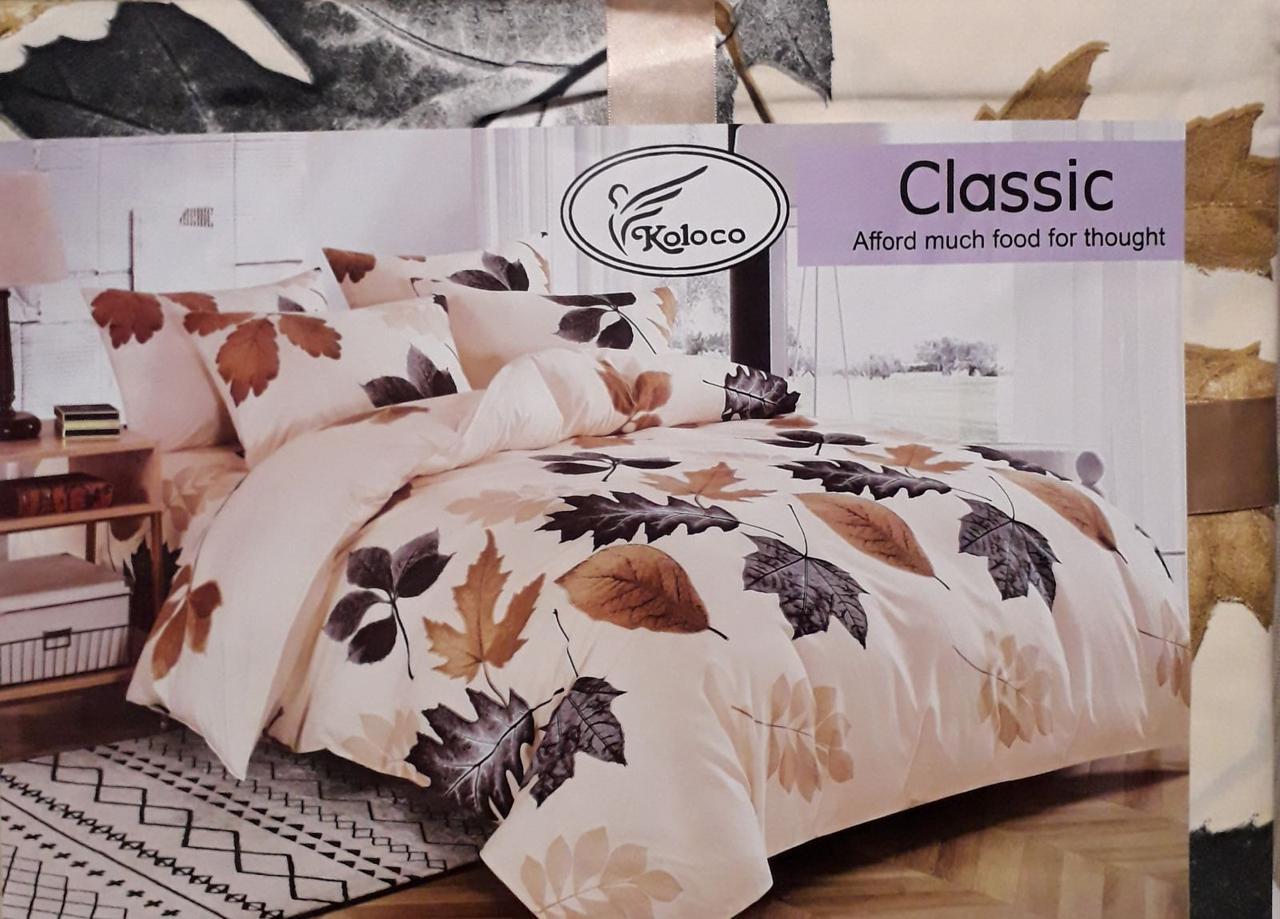 Байковый  комплект постельного белья Разные расцветки Байка ( фланель) Евро размер
