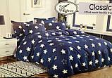 Байковый  комплект постельного белья Разные расцветки Байка ( фланель) Евро размер, фото 3